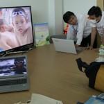 09 เมษายน 2557 ให้สัมภาษณ์กับทีมงานเรื่องจริงผ่านจอ คลิปเด็กจมน้ำ