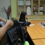 08 กรกฏาคม 2557 ให้สัมภาษณ์ ช่อง3 กรณีเคส น้องแก้ม ถูกฆ่าข่มขืนบนรถไฟ