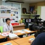 22 กรกฏาคม 2557 ทีมข่าวTNN ขอสัมภาษณ์ เรื่องลืมเด็กไว้ในรถ และวิธีการป้องกัน