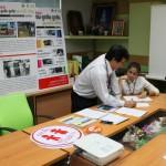 22 กรกฏาคม 2557 ทีมข่าวค่ำไทยพีบีเอส เรื่องปัญหาผู้ใหญ่ลืมเด็กในรถ และการจัดระเบียบรถรับส่งนักเรียน