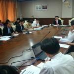ประชุม แผนลดความเสี่ยงต่อสุขภาพ ในพื้นที่เหมืองทอง จ.พิจิตร