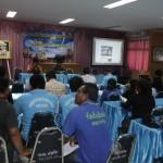 (27 ส.ค.2558) บรรยายให้ความรู้เกี่ยวกับ โครงการชุมชนปลอดภัย