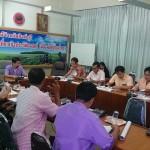 (23 ก.ย.58) ร่วมประชุมการขับเคลื่อนชุมชนปลอดภัย จ.สิงห์บุรี