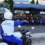 อบรมขับขี่จักรยานยนต์ปลอดภัย โดย AP.HONDA
