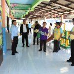 (10 มิ.ย.59) ลงพื้นที่เยี่ยมสำรวจชุมชน และศูนย์พัฒนาเด็กเล็ก อบต.เกาะเกร็ด จ.นนทบุรี
