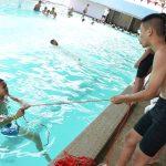 โครงการสร้างความปลอดภัยทางน้ำแก่เยาวชนในชุมชนวังหว้า จ.พิจิตร ( 09 ก.ย.59 )
