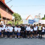 วันเด็กเดินเท้าปลอดภัย โรงเรียนวัดเลียบราษฎร์บำรุง ( 31 มกราคม 2560 )