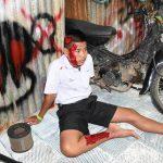 กิจกรรมรณรงค์ก่อน 15 ปี ไม่ขับขี่มอเตอร์ไซค์ โรงเรียนระหานวิทยา จ.กำแพงเพชร ( 29 มิ.ย.2560 )