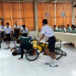 """โครงการ เด็ก don't drive 15 ปีไม่ขี่มอเตอร์ไซค์ โรงเรียนเสาไห้ """"วิมลวิทยานุกูล"""" จ.สระบุรี ( 22 ส.ค.2560 )"""