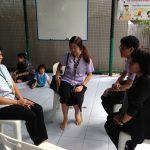 ลงพื้นที่ตรวจเยี่ยมศูนย์พัฒนาเด็กก่อนวัยเรียนนิคมมักกะสัน เขตราชเทวี ( 01 พ.ย.2560 )