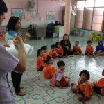 ลงพื้นที่ศูนย์พัฒนาเด็กก่อนวัยเรียนชุมชนบ้านคูคตพัฒนา เขตมีนบุรี ( 3 ม.ค.2561 )
