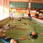 ประชุมพัฒนาสื่อเด็กจมน้ำ โรงเรียนบ้านแก่งหว้าแก่งไฮ ( 23 ก.พ.2561 )