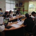 ทีมงานศูนย์วิจัยฯเป็นวิทยากรให้ความรู้แก่นักศึกษาปริญญาโท คณะพยาบาลศาสตร์ ศิริราชพยาบาล ( 31 ม.ค.2561 )