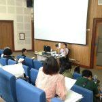 ประชุมเพื่อนำเสนอข้อมูลการสำรวจเก็บข้อมูลเด็กปฐมวัยกับความยากจนในครัวเรือน ( 18 มี.ค.2561 )