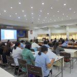 ประชุมเพื่อชี้แจงการเก็บข้อมูลเด็กปฐมวัยกับความยากจนในครัวเรือน จ.สมุทรปราการ ( 23 พ.ค.2561 )