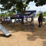 ตรวจสนามเด็กเล่นในพื้นที่ ศูนย์พัฒนาเด็กเล็กองค์การบริหารส่วนตำบลศาลายา โรงเรียนวัดสุวรรณาราม จ.นครปฐม ( 14 ก.ย.2561 )