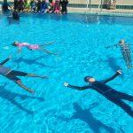 ลงประเมิน 5 ทักษะความปลอดภัยทางน้ำ โรงเรียนราชนุบาล จ.น่าน ( 22-24 ก.ย.2561 )