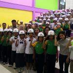 กิจกรรม มอบหมวกกันน็อก 8 โรงเรียน จังหวัดสงขลา ( 26-30 พ.ย.2561 )