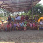 ลงพื้นที่ศูนย์พัฒนาเด็กเล็กเทศบาลตำบลไทรย้อย อ.เนินมะปราง จ.พิษณุโลก ( 21 ธ.ค.2561 )