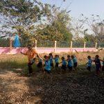 ดำเนินโครงการฝึกซ้อมดับเพลิงและอพยพเด็กในศูนย์พัฒนาเด็กเล็กบ้านบ่อน้ำจืด จ.นครปฐม ( 27 ธ.ค.2561 )
