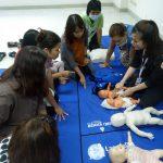 อบรมปฐมพยาบาลและการกู้ชีพ ศูนย์พัฒนาเด็กปฐมวัย ( 16 ม.ค.2562 )