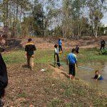 เรียนรู้ป้องกันภัยจมน้ำ โรงเรียนบ้านทุ่งโม่ง วังทรายพูน จ.พิจิตร ( 05 ก.พ.2562 )