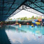 ศูนย์ฝึกว่ายน้ำเพื่อเอาชีวิตรอด ของสวนน้ำบาร์เล่ย์วิลล่า ต.ระแงง อ.ศีขรภูมิ จ.สุรินทร์ ( 20 ก.พ.2562 )