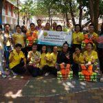โครงการชุมชนสร้างทักษะป้องกันน้องจมน้ำ โรงเรียนเทศบาลบ้านโนนชัย และโรงเรียนเทศบาลบ้านหนองแวง จ.ขอนแก่น ( 26-27 เมษายน 2562 )