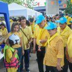 รัฐมนตรีว่าการกระทรวงการต่างประเทศ เยี่ยมชมกิจกรรมเสริมทักษะความปลอดภัยในเด็ก ณ ลานกีฬาชุมชนซอยสวนเงิน กทม. ( 26 พ.ค.2562 )