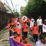 กิจกรรมรณรงค์ เด็กไทยข้ามถนนปลอดภัย โรงเรียนสุเหร่าคลองจั่น ( 31 พ.ค.2562 )