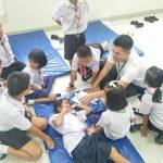 โรงเรียนวัดสาลวัน : Safety Hunter ภารกิจพิชิตจุดเสี่ยง ( 12 มิ.ย.2562 )
