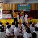 รายงานการดำเนินงาน เครือข่ายโรงเรียนบ้านแก่งหว้าแก่งไฮ ทักษะความปลอดภัยทางน้ำ